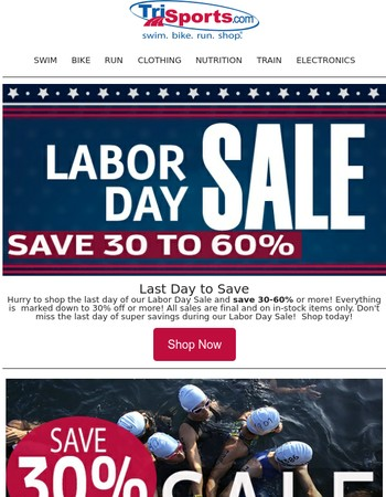 Get It While You Can For LESS During Our Labor Day Sale!