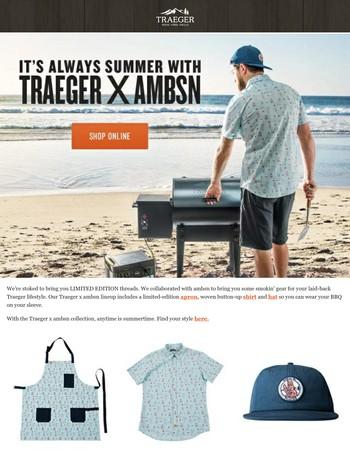 Exclusive Traeger Soft Goods