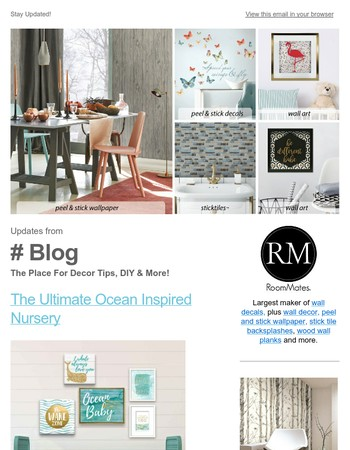 Decor Tips & More From The RoomMates Blog