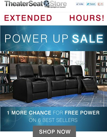 LAST CHANCE: Get 24 more Power Hours