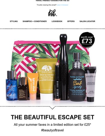 The Great (and beautiful) Escape; get outta here with Bumble (and our bffs)