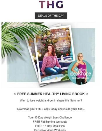 FREE Summer Healthy Living eBook...