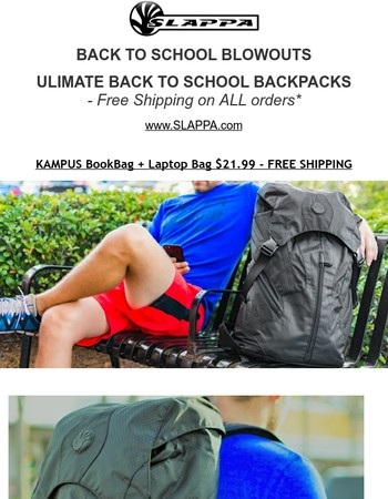 BACK TO SCHOOL UP TO 75% OFF