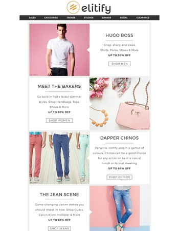 Rise and Shine with Hugo Boss, Ted Baker & More