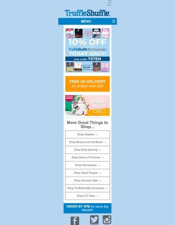 Truffle Shuffle Newsletter