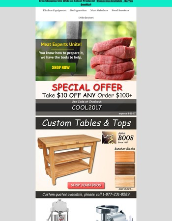 Special Offer Inside - Stock Your Kitchen For Less!