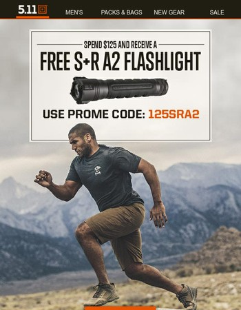 Summer and Shorts....And How About A Free Flashlight?