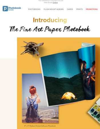 Meet your new love - the Fine Art Paper Photobook
