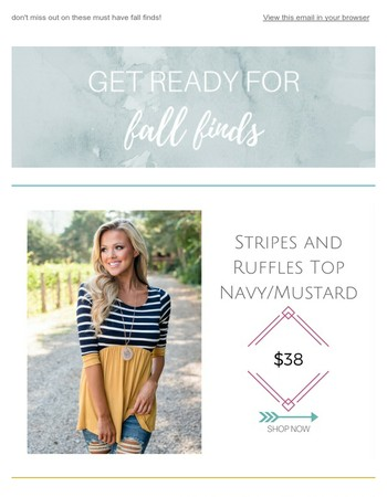 fall finds coming your way!