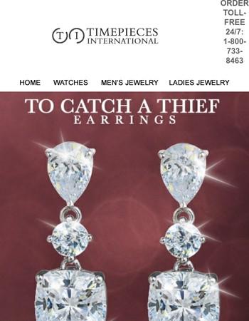 6.0ct Diamondeau® Earrings For Just $69