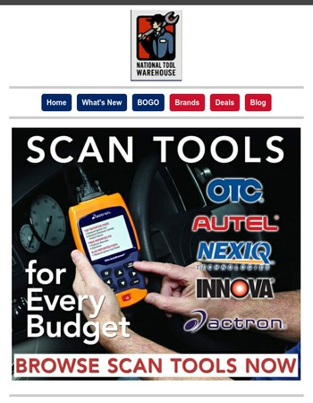 Scan Tools for budgets BIG & small!
