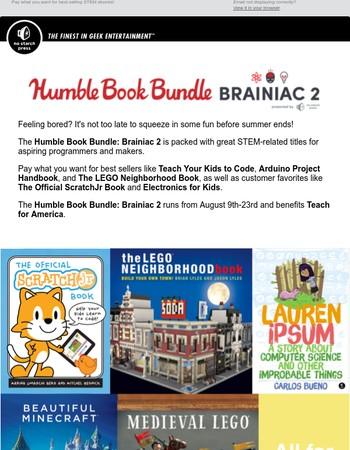 Humble Book Bundle: Brainiac 2, presented by No Starch Press