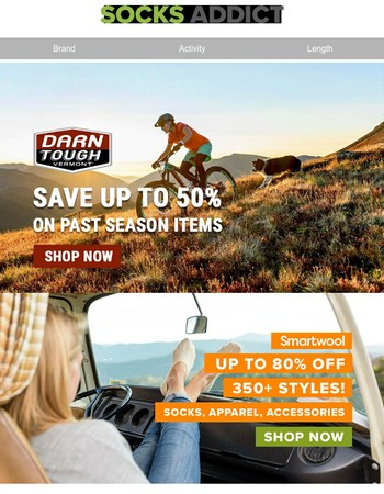 Smartwool and Darn Tough Clearance Sale - Shop Now!