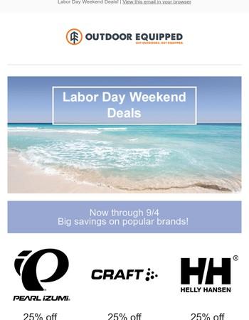 Labor Day Weekend Deals!