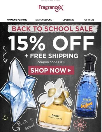 Back to School Weekend Sale