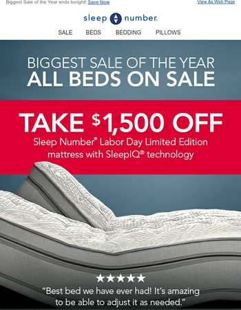Sleep Number Coupons: 50% off Coupon, Promo Code 2017