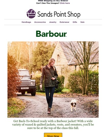 Back-To-School With Barbour!