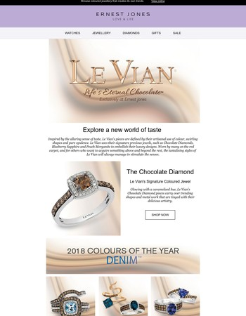 Discover the Colourful World of Le Vian's Delicious Jewellery