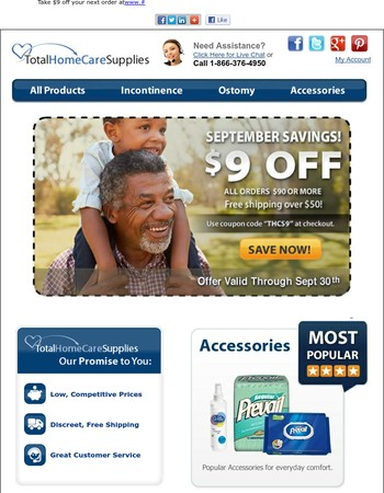 Don't forget to take advantage of our September Promotion!