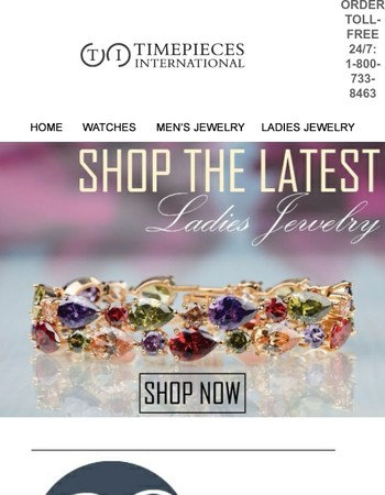 New In: Check Out The Latest Ladies' Jewelry