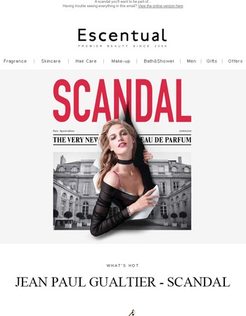 A scandal you'll want to be part of...