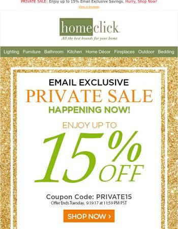 You're Invited... VIP Private Sale