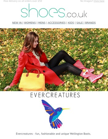 NEW IN | Evercreatures - Fun, Fashionable & Unique Wellies