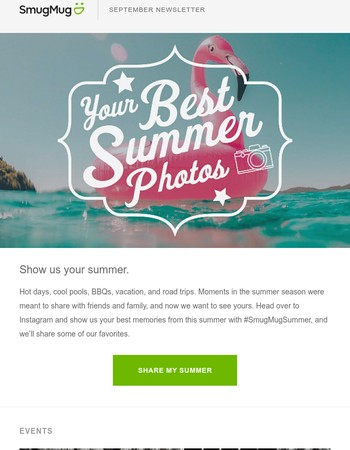 Sharing the last of our summer love with hot deals and cool tips.