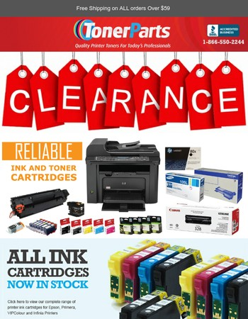 Don't Miss Out! Up to 80% off your printing supplies