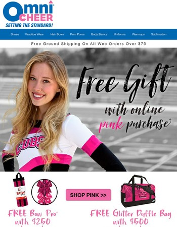 Gear Up For Pinktober!