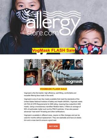 1 Day Flash SALE - VOGMASK 20% OFF