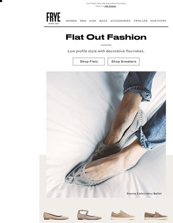 Flat Out Fashion