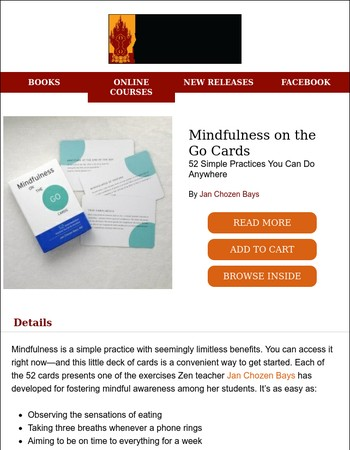 Our Newest Card Set: Mindfulness on the Go Cards