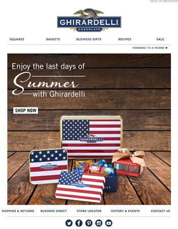 Time is Running out to Shop Summer Favorites!