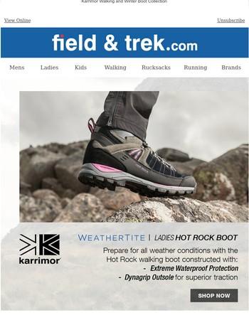 Karrimor Walking Boots - Xtreme BUY NOW
