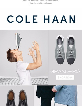 Fall for These New Cole Haan Styles