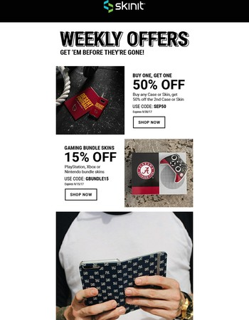 Weekly Offers | Save Up to 50% off, Don't Miss Out!