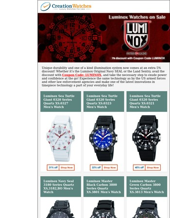 Luminox Watches On Sale – Coupon Code Inside!!
