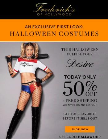 Ready To Fulfill Your Halloween Fantasy?