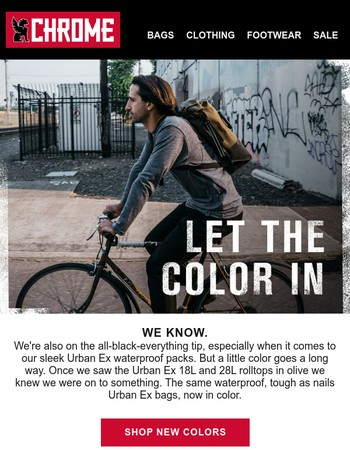 The Color Scheme - New Urban Ex Colors