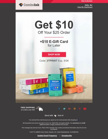$20 Offer Makes Printing Easy