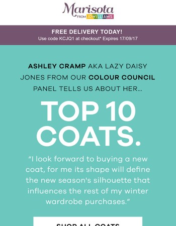 Our most wanted coats + Free Delivery