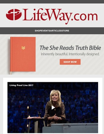 This Saturday experience Beth Moore's live teaching!