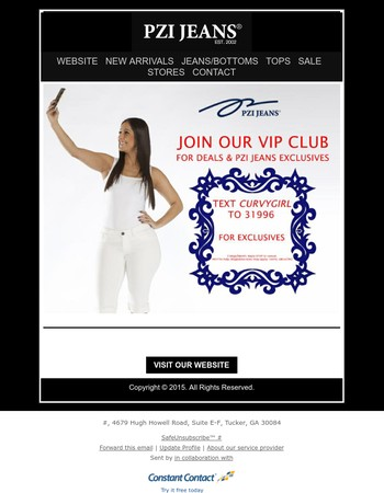 Join Our VIP Mobile Club Today For Exclusive Deals