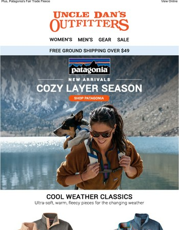 New Patagonia: It's That Time of Year Again