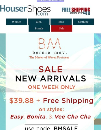 Bernie Mev - New Arrivals Sale + Free Shipping