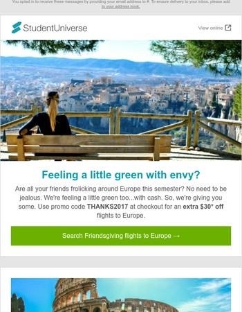 Invite: Friendsgiving 2k17 Location: Europe