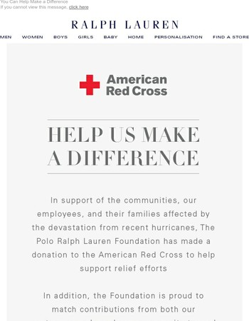 Join Us in Supporting Hurricane Relief Efforts