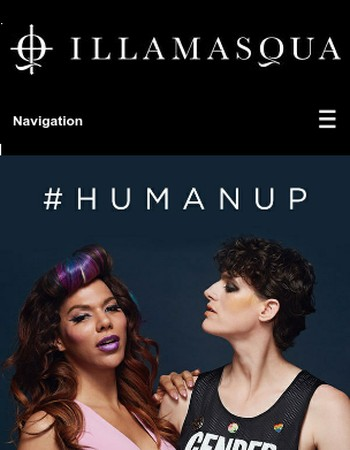 Gender is Over: The new faces of Illamasqua...
