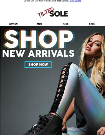 What do you think, New Arrivals or Top Sellers?